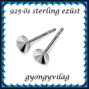 925-ös ezüst fülbevaló kapocs EFK B 28-6 - Meska.hu