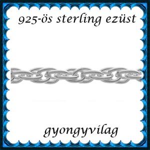 925-ös sterling ezüst ékszerkellék: lánc méterben 925 EL13-1,55e - Meska.hu