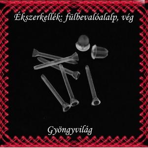 Ékszerkellék: fülbevaló alap BFK-SZ01-2mm 20pár/cs - gyöngy, ékszerkellék - egyéb alkatrész - Meska.hu