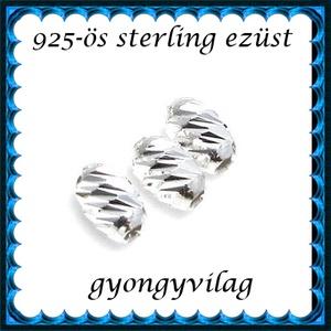 925-ös ezüst köztes / gyöngy / dísz EKÖ 96 - Meska.hu