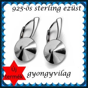 925-ös ezüst fülbevaló kapocs biztonsági kapoccsal EFK K 19-14, Gyöngy, ékszerkellék, Egyéb alkatrész, Ékszerkészítés, Mindenmás, Szerelékek, EFK K 19-14\n---\n925-ös fémjellel ellátott valódi ezüst (bevizsgált)fülbevalóalap, biztonsági kapoccs..., Meska