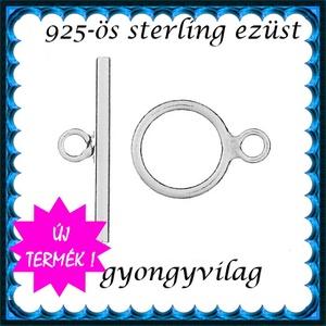 925-ös  ezüst T lánckapocs  ELK T 25, Gyöngy, ékszerkellék, Egyéb alkatrész, Ékszerkészítés, Gyöngy, ELK T 25\n\n925-ös  ezüst T lánckapocs \n\nAz ár 1 garnitúra kapocsra vonatkozik.\n\nA méreteket az utolsó..., Meska
