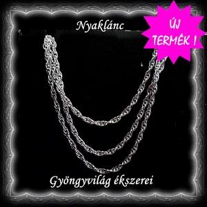 Ékszerek-nyakláncok: 925-ös sterling ezüst lánc SSZ-EÜL 07-42-1,55 e - Meska.hu