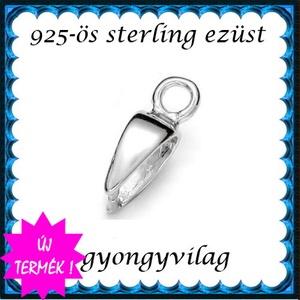 925-ös ezüst medálkapocs  EMK 110e - Meska.hu