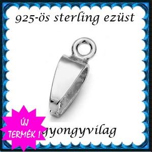 925-ös ezüst medálkapocs  EMK 111e - Meska.hu