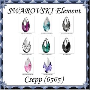 Ékszerkellék: Swarovski kristály csepp 22mm-es medál több színben 6565, Gyöngy, ékszerkellék, Swarovski kristályok, Ékszerkészítés, Gyöngy, Eredeti swarovski kristály csepp medál , több színben .\n\nMéret:22 mm\n\nAz ár egy darabra vonatkozik!\n..., Meska