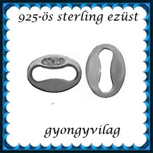 925-ös sterling ezüst ékszerkellék: láncvég fémjel jelző ELK KV 07  BRH - Meska.hu