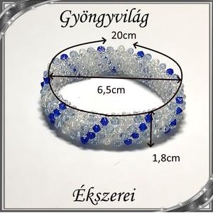 Capriccho 4 soros fűzött kristály karkötő SKCA-K4-06 - Meska.hu