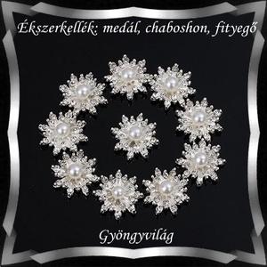 Ékszerkellék: medál, caboshon, fityegő BMCF-01e - Meska.hu