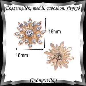 Ékszerkellék: medál, caboshon, fityegő BMCF-02a - Meska.hu