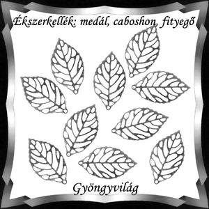 Ékszerkellék: medál, caboshon, fityegő BMCF-03e 14x23,5 10db/cs - Meska.hu