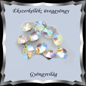 Gyöngyök: kristály rivoli 5mm-es ragasztható 10db/cs SS24 - Meska.hu
