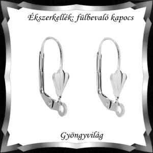 Biztonsági kapccsos fülbevaló alap 5 pár BFK-K08E - Meska.hu