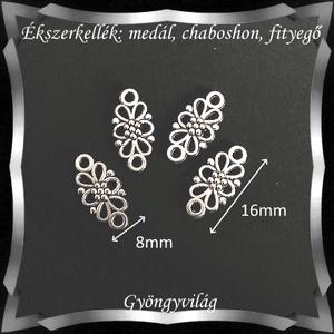 Ékszerkellék: medál, caboshon, fityegő BMCF-11e 4db/cs - Meska.hu