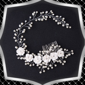 Esküvői, menyasszonyi, alkalmi hajdísz, ES-HF08 - Meska.hu