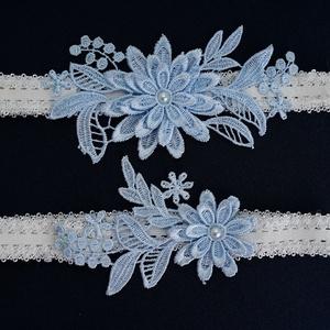 Esküvői, menyasszonyi harisnyakötő szett  ES-HK01-1 - Meska.hu