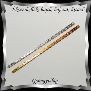 Ékszerkellék: hajtű, hajcsat, kitűző BEK H09-1 1db/cs - gyöngy, ékszerkellék - üveggyöngy - Meska.hu