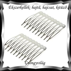Ékszerkellék: hajtű, hajcsat, kitűző BEK H01 9-10 2db/csomag - Meska.hu