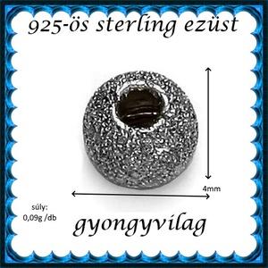 925-ös sterling ezüst ékszerkellék: köztes/gyöngy/díszitőelem EKÖ 34-4ar 2db/csomag - gyöngy, ékszerkellék - fém köztesek - Meska.hu