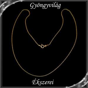 Ékszerek-nyakláncok: 925-ös sterling ezüst lánc SSZ-EÜL 05-42-1a - Meska.hu