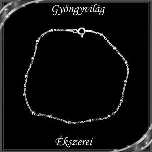 Ékszerek-karkötők: 925-ös sterling ezüst karkötő SSZ EÜK 08-21e - Meska.hu