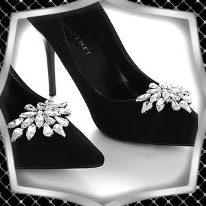 Esküvői, menyasszonyi, alkalmi cipődísz, cipőklipsz ES-CK13 - esküvő - cipő és cipőklipsz - Meska.hu