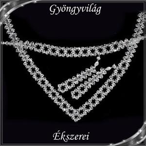 Esküvői, menyasszonyi, alkalmi ékszer szett, swarovszki kristály SSZE-SW04-1 5328 - esküvő - ékszer - Meska.hu