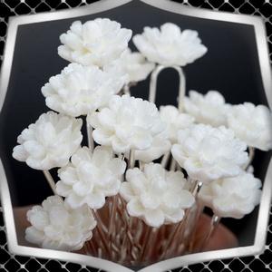Ékszerek-hajdíszek, hajcsatok: Esküvői, menyasszonyi, alkalmi hajdísz ES-H-TŰ021 10db/csomag, Esküvő, Hajdísz, Kontydísz & Hajdísz, Ékszerkészítés, Gyöngyfűzés, gyöngyhímzés, Meska