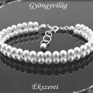 Esküvői, menyasszonyi, alkalmi ékszer szett,  SSZEB-TE09 - esküvő - ékszer - ékszerszett - Meska.hu