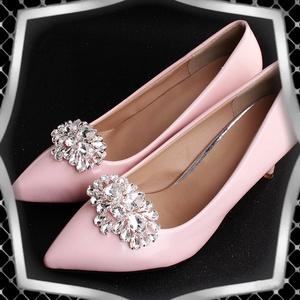Esküvői, menyasszonyi, alkalmi cipődísz, cipőklipsz ES-CK25, Esküvő, Cipő és Cipőklipsz, Ékszerkészítés, Gyöngyfűzés, gyöngyhímzés, Meska