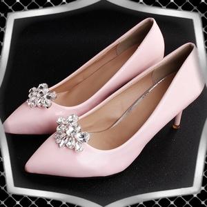 Esküvői, menyasszonyi, alkalmi cipődísz, cipőklipsz ES-CK27 - esküvő - cipő és cipőklipsz - Meska.hu