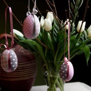Patchwork-tojás (rózsaszín) (haBEAs) - Meska.hu