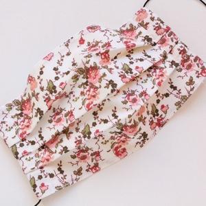 Arcmaszk, szájmaszk, mosható, vasalható, 2 rétegű, 100% pamutvászon, rózsaszín virágokkal, Női, Maszk, Arcmaszk, Ruha & Divat, Varrás, Arcmaszk, szájmaszk, mosható, vasalható, 2 rétegű, 100% pamutvászon, rózsaszín virágokkal.\n\n2 rétegű..., Meska