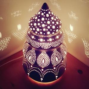 """, A Szép Álmokért\""""Kerámia Éjjeli Lámpa, Otthon & lakás, Lakberendezés, Lámpa, Hangulatlámpa, Asztali lámpa, Kerámia, A LÁMPA MELY HANGULATOT TEREMT!Válogass bátran a formák és a hangulatok közt!A fény tökéletes kiegés..., Meska"""