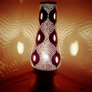 """,Eszter Álma \""""Kerámia Éjjeli Lámpa, Otthon & lakás, Lakberendezés, Lámpa, Hangulatlámpa, Asztali lámpa, Kerámia, A LÁMPA MELY HANGULATOT TEREMT!Válogass bátran a formák és a hangulatok közt!A fény tökéletes kiegés..., Meska"""