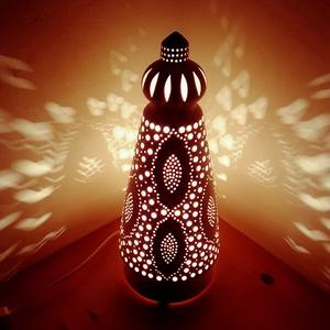 """,Esti Fények\""""Kerámia Éjjeli Lámpa, Otthon & lakás, Lakberendezés, Lámpa, Hangulatlámpa, Asztali lámpa, Kerámia, A LÁMPA MELY HANGULATOT TEREMT!Válogass bátran a formák és a hangulatok közt!A fény tökéletes kiegés..., Meska"""