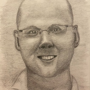 Portré készítését vállalom, Művészet, Portré & Karikatúra, Portré, Fotó, grafika, rajz, illusztráció, Portré készítését vállalom jó minőségű papírra, grafit ceruzával.\nMérete választható: A/5 (15cmx21cm..., Meska