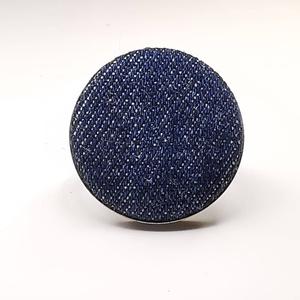 Farmer sötétkék farmerkék kék mono gyűrű (Hamupupocska) - Meska.hu