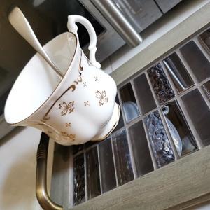 Animus Steam kávé barna mozaik tálca, fém lábakkal, fém fogantyúkkal (Hamupupocska) - Meska.hu