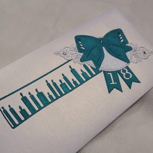 Prémium metál vajszín pávazöld gyöngyházfényes díszes jótartású, zárható pénzátadó boríték : HMB2105_12 - otthon & lakás - papír írószer - képeslap & levélpapír - Meska.hu