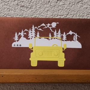 Prémium metál autós bronz sárga gyöngyházfényes díszes jótartású, zárható pénzátadó boríték : HMB2105_14 - otthon & lakás - papír írószer - képeslap & levélpapír - Meska.hu