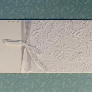 Pénzátadó boríték, Nászajándék, Pénz átadó, Gratulálunk boríték, Esküvői Gratuláció : HMB2107_50, Esküvő, Emlék & Ajándék, Nászajándék, Papírművészet, Meska