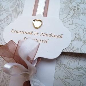 Pénzátadó boríték, Esküvő, Meghívó, ültetőkártya, köszönőajándék, Papírművészet, Esküvői meghívókat, felkérőket, ültetőket, szalvétagyűrűket, ajándék- és pénz átadókat készítek egye..., Meska