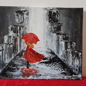 Pirochrome modern olajfestmény, Művészet, Festmény, Olajfestmény, Festészet, Érdekes hatású, különleges, saját készítésű festmény. Feszített vászonra készült olajfestmény.\n\nMére..., Meska