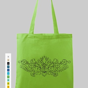 Bevásárló szatyor, Táska, Táska, Divat & Szépség, Szatyor, Fotó, grafika, rajz, illusztráció, Kíméljük a környezetünket. Használjunk textil táskákat bevásárláshoz.\nA minták és a szatyor színe vá..., Meska