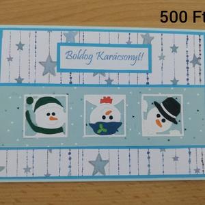 Karácsonyi képeslap, Karácsonyi képeslap, Karácsony & Mikulás, Otthon & Lakás, Mindenmás, Egyedi karácsonyi képeslap, Meska