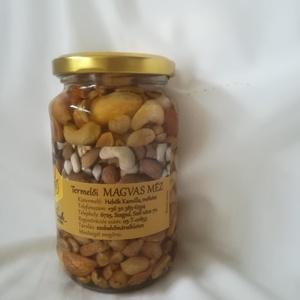 Magvas méz, Méz & Propolisz, Élelmiszer, Élelmiszer előállítás, Dió, mandula, kesudió, mogyoró, földimogyoró virágmézben. Egyedülálló élvezeti értéke van. ..., Meska