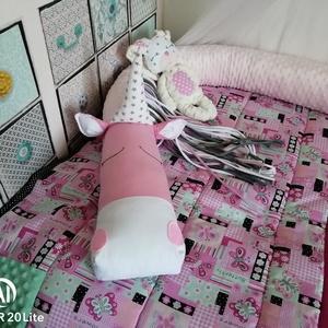 Szafari unikornis állatos rácsvédő , Rácsvédő & Baldachin, Lakástextil, Otthon & Lakás, Varrás, \nEzzel az állatfejes rácsvédővel igazán egyedivé varázsolhatod babád szobáját. Teljesen időtálló. A ..., Meska
