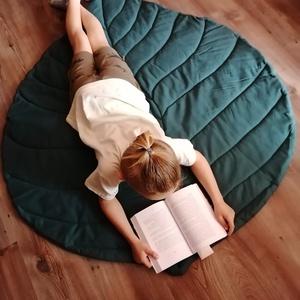 Levélszőnyeg / játszószőnyeg több méretben /mustársárga  - otthon & lakás - lakástextil - szőnyeg - Meska.hu