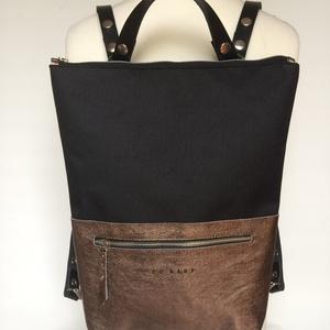Tekla's bag hátitáska, táska fekete-bronz (hegymegigabi) - Meska.hu